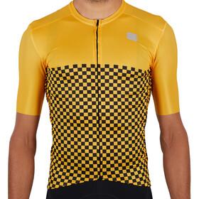 Sportful Checkmate Maglietta Uomo, giallo
